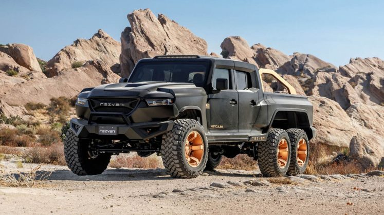 Rezvani Hercules 6X6 2020 pick up