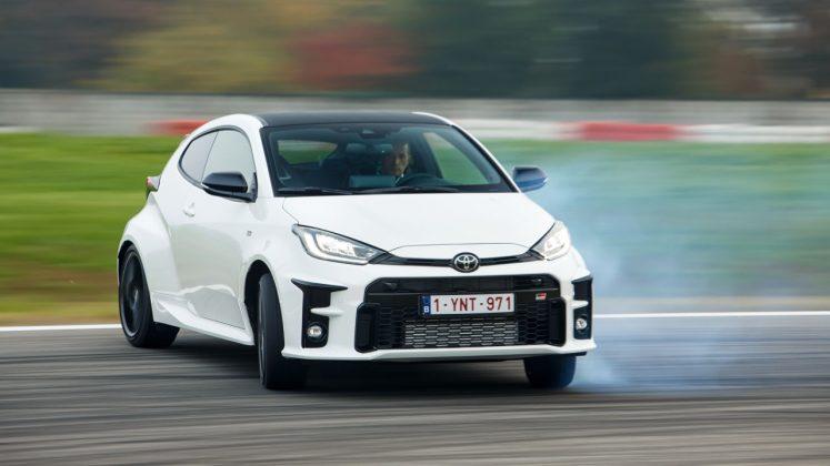 Toyota GR Yaris track 2020