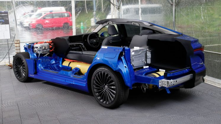 Toyota Mirai 2η γενιά Ευρώπη