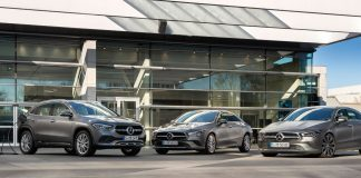 Mercedes GLA 250e και Mercedes CLA 250e
