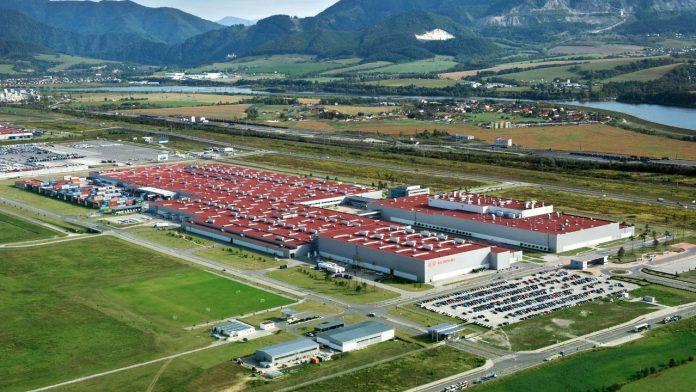 Kia εργοστάσιο Zilina Σλοβακία