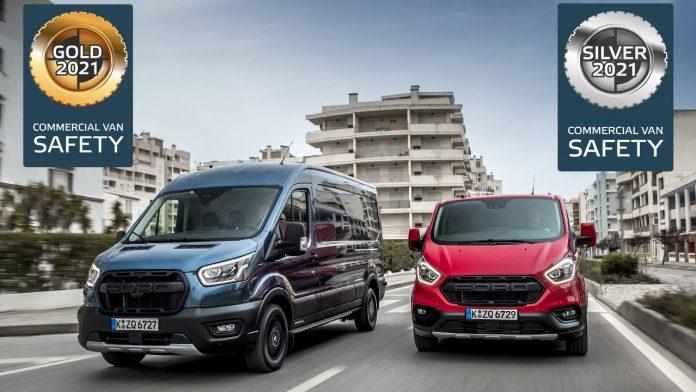 Ford Transit Euro NCAP 2020