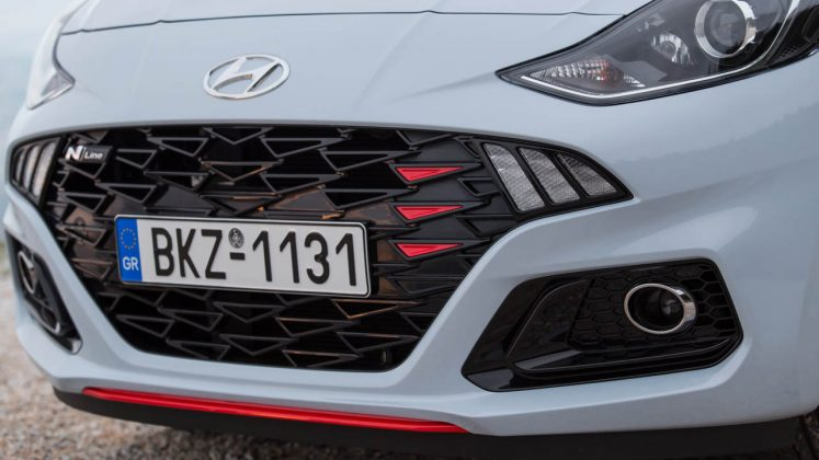 Hyundai i10 N Line Traction δοκιμή test