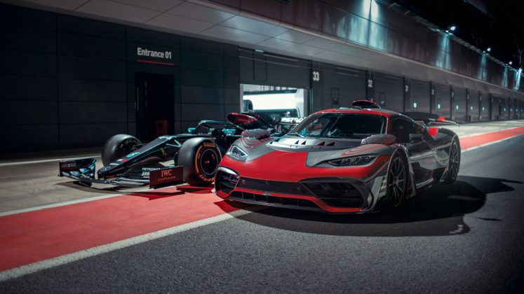 Mercedes-AMG Project ONE Lewis Hamilton 2020