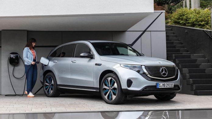 Mercedes EQ ηλεκτρικά