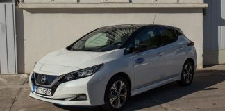 Nissan LEAF e+ 64 kWh δοκιμή Traction