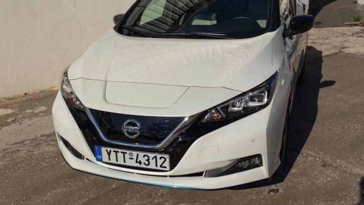 Nissan LEAF e+ 64 kWh δοκιμή Traction