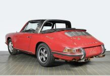 Αναπαλαίωση Porsche 911 S Targa 1967