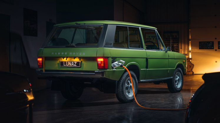 Range Rover Classic ηλεκτρικό