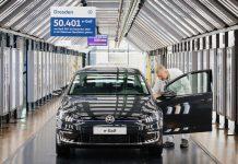 Volkswagen e-Golf τέλος παραγωγής 2020