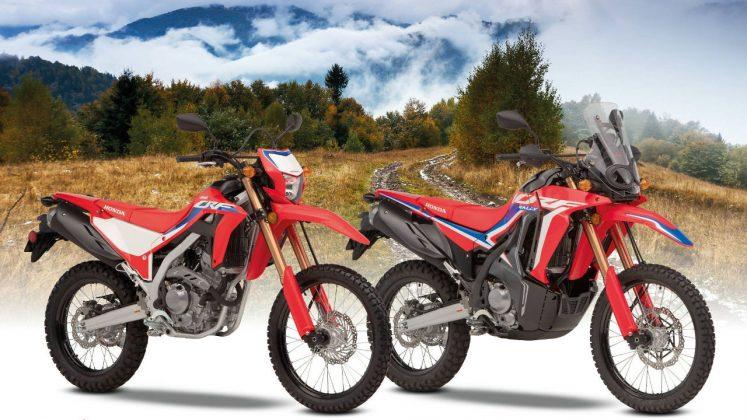 Honda CRF 300L και CRF300 Rally 2021
