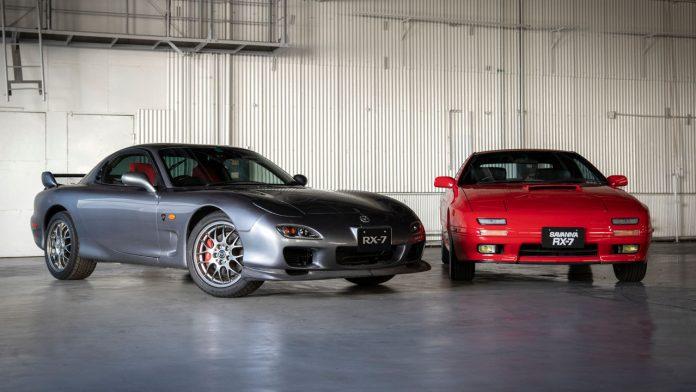 Mazda RX-7 νέα ανταλλακτικά 2021