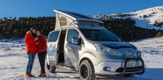 Nissan e-NV200 Winter Camper concept
