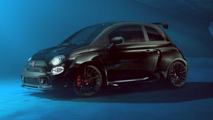 Pogea Racing Fiat Abarth 595 Fiat 500