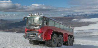 Sleipnir λεωφορείο παγετώνων