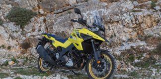 Δοκιμή Suzuki V-Strom 1050 XT Traction 2021