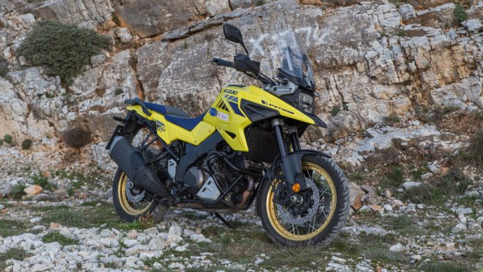 Δοκιμή Suzuki V-Strom 1050 XT Traction 2021