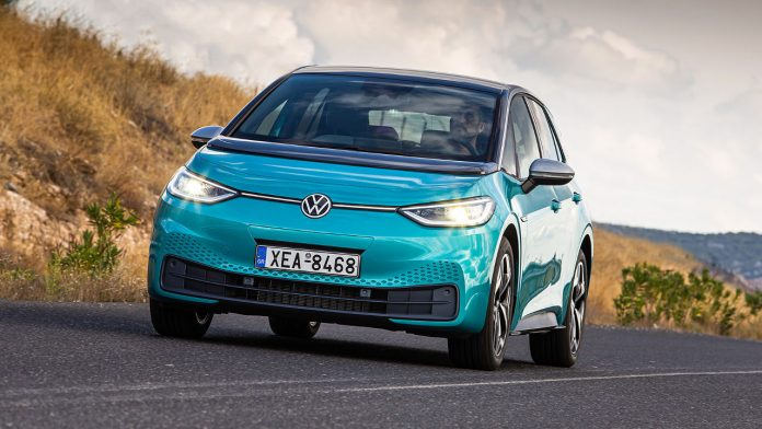 VW id.3 ηλεκτρικό σύστημα ανάκτησης ενέργειας
