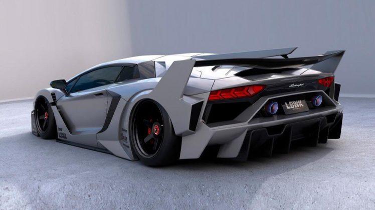 Lamborghini Aventador Liberty Wlak bodykit
