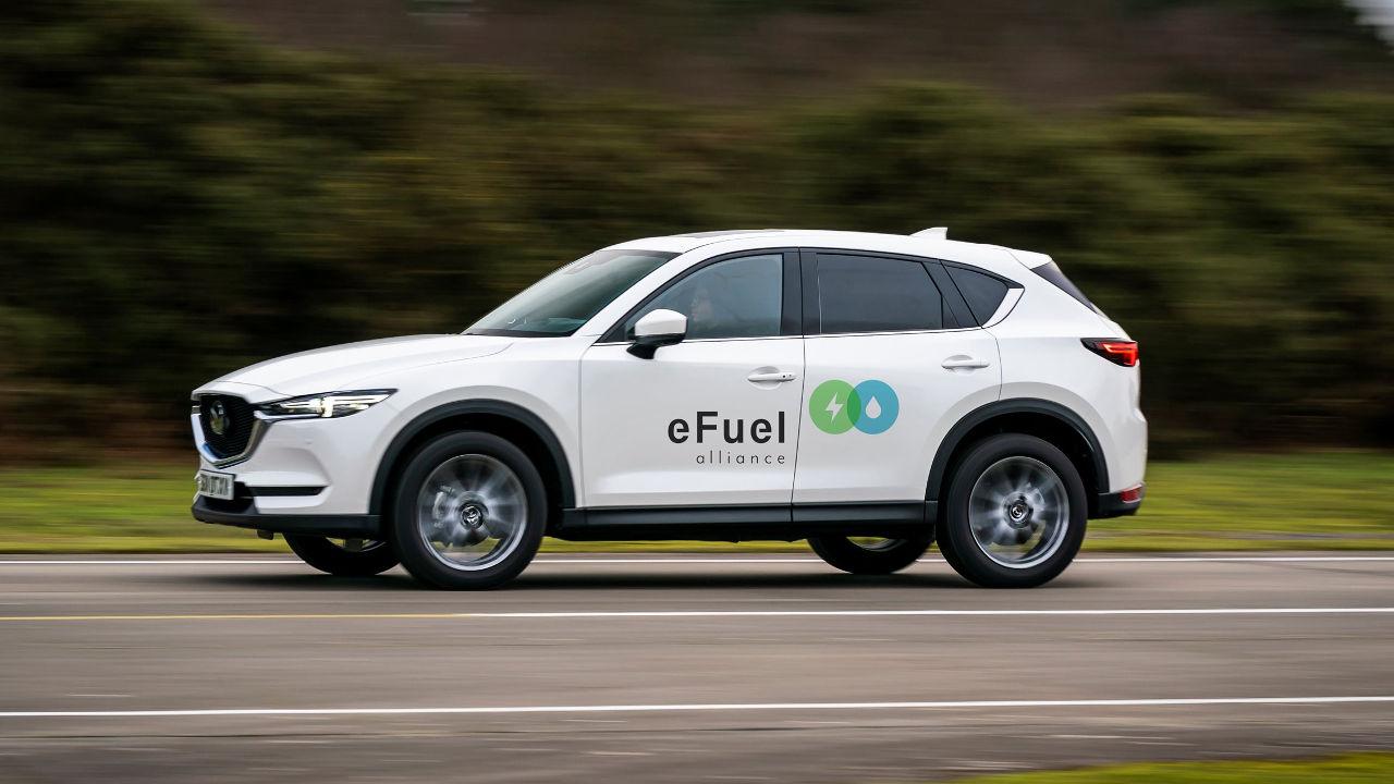 Mazda eFuel Συμμαχία Alliance 2021