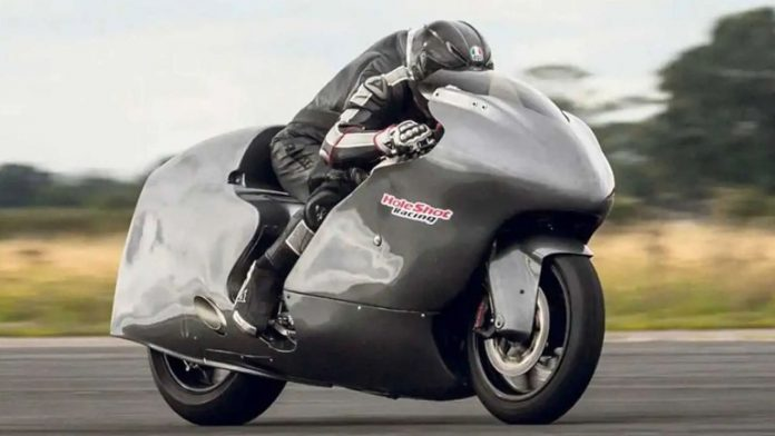 Guy Martin Suzuki Hayabusa ρεκόρ ταχύτητας