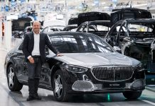 2021 Mercedes παραγωγή ορόσημο 50.000.000