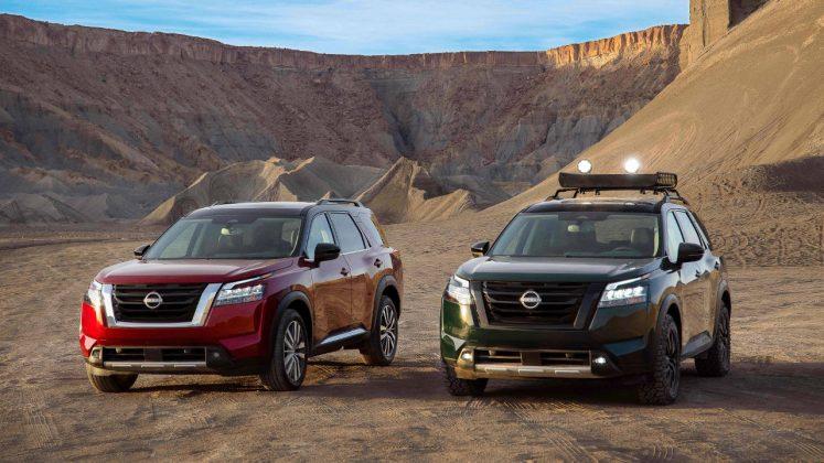 Nissan Pathfinder 2021 νέο