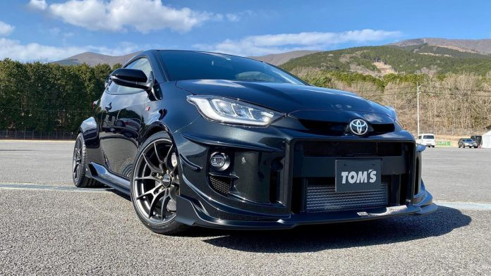 Toyota GR Yaris Tom's Racing 2021