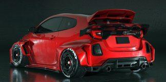 Toyota GR Yaris Hugo Silva Designs 2021