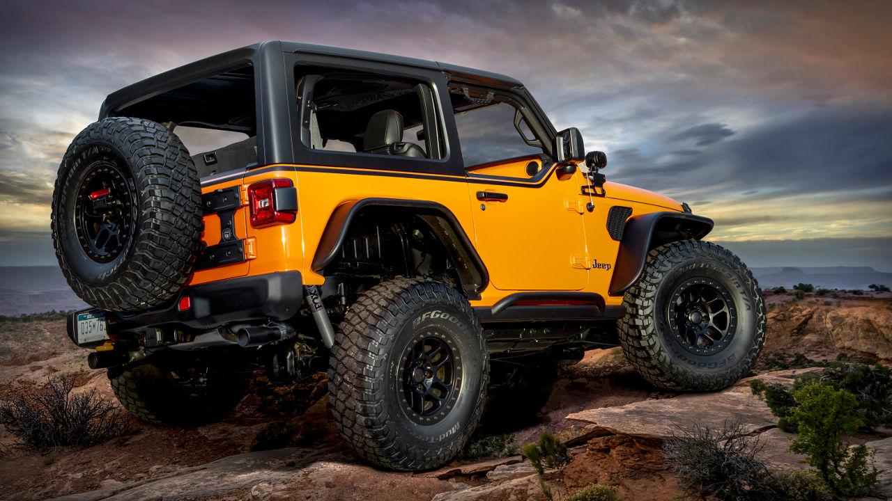 Jeep Gorilla Glass 2021