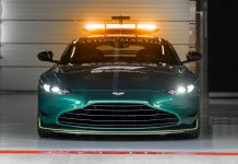 Aston Martin Safety Car Formula 1 2021