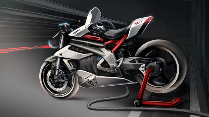 Project Triumph TE-1 2021 μοτοσυκλέτα