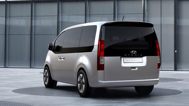 Hyundai Staria MPV λεπτομέρειες 2021