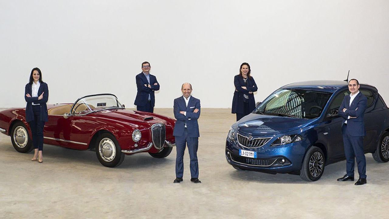 Lancia επιστροφή 2021 μάρκα