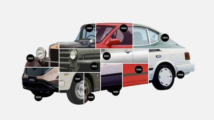 Nissan σήμα logo 2021