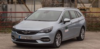Opel Astra Sports Tourer CVT Traction