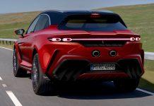 Ferrari Purosangue SUV renderings σχέδια 2021