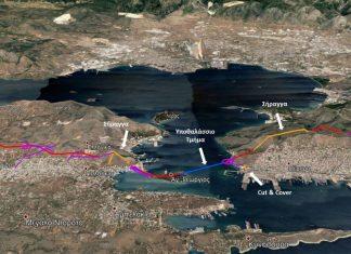 Υποθαλάσσια ζεύξη Σαλαμίνας Περάματος 2021