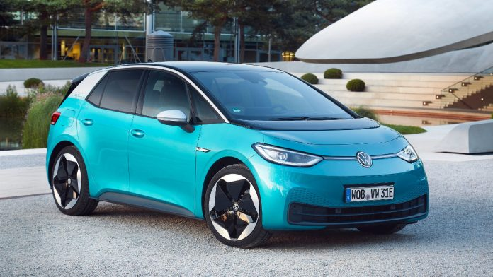 2021 Volkswagen ID.3 ουδέτερο αποτύπωμα CO2 ηλεκτρικό vs. συμβατικό αυτοκίνητο