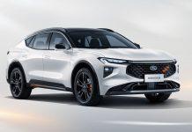 Ford Evos SUV νέο μοντέλο Κίνα 2021