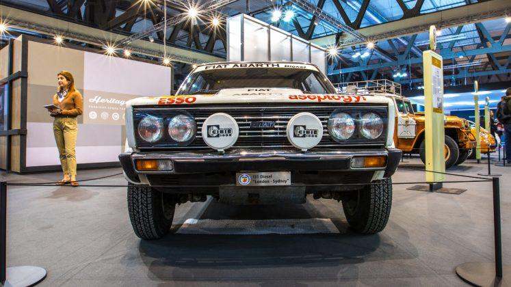 Fiat Abarth 131 diesel 1970