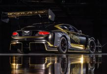 Bentley Continental GT3 Pikes Peak 2021 αγωνιστικό
