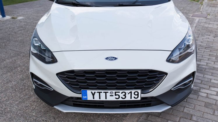 Ford Focus Active X δοκιμή traction