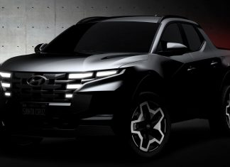 Hyundai Santa Cruz pick up 2021 teaser
