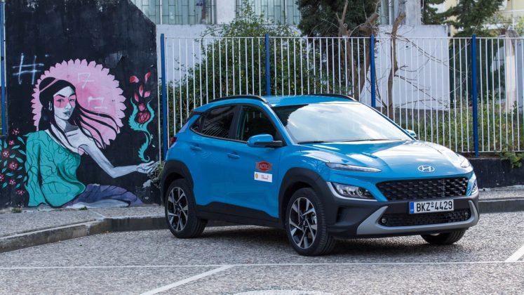Hyundai Kona δοκιμή Traction.gr