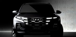 Hyundai Santa Cruz pick up 2021