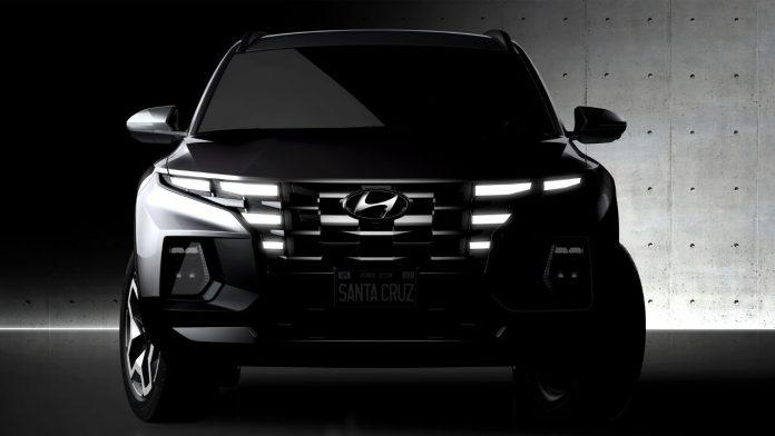 Hyundai Santa Cruz pick up 2021