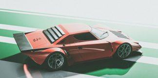 Lancia Stratos renderings 2021