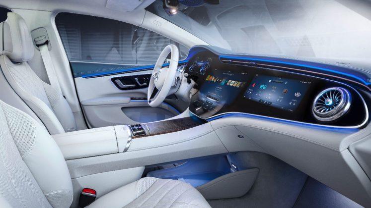 Νέα Mercedes EQS 2021
