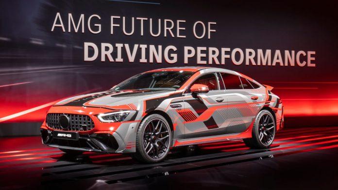 Mercedes-AMG plug-in υβριδική τεχνολογία